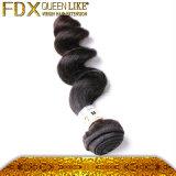 速い配達緩い巻き毛の人間の毛髪のWeftインドの毛のベンダー