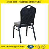 ファブリックおよびフレームの金属の宴会のWedidngの黒い椅子