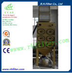 Downflow Cartridge Dust Collector pour Industrial Air Clean