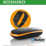 Horloge van de Pedometer van Bluetooth het Slimme voor Mobiele Telefoon