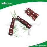 Инструмент миниых алюминиевых плоскогубцев пользы ручки Multi карманный