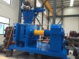 Pelotilla que hace la máquina para el sulfato del potasio