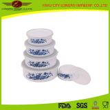 Plastic Lidの世帯Enamel Food Bowl