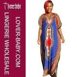 Африканское платье Dashiki традиционное для повелительницы (L28064)