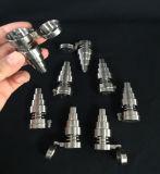 Pregos de titânio de fábrica de Wholsale Domeless para tubos de água de vidro