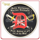 Выполненный на заказ монетка возможности отливки покрынная золотом для сувенира