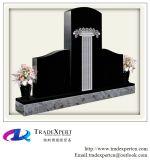 Het Zwarte Graniet van China met het Snijden van het Monument van de Bloem, Grafsteen