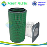 Forst Quadrat-Klemme-Filtereinsatz