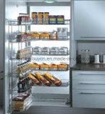 Lacca di modello popolare rifinita cucinando l'armadio da cucina