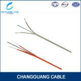 Arquear-Tipo cable de Gjxh de la alta calidad de la gota FTTH