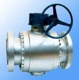 Электрический выкованный шариковый клапан Trunnion Fix