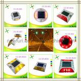 Plots réflectorisés solaires en plastique de route du signal d'échantillonnage IP68 pour la sécurité routière