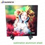 Sunmetaの2016年工場デザイン5052等級の昇華アルミニウムシート、昇華金属板の