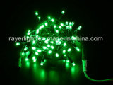 A corda impermeável do diodo emissor de luz ilumina o Fairy do Natal