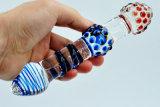Dildo игрушки секса стеклянный для женщин Injo-Dg035