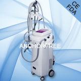 Ce подмолаживания кожи машины ультразвукового вакуума Cavitation+Vacuum Liposuction+Laser+Bipolar RF+Roller ультразвукового лицевой