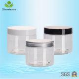 vaso cosmetico trasparente rotondo della crema della mascherina 300ml con la protezione di plastica