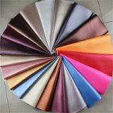 Кожа PVC сбывания изготовления имитационная для драпирования софы мебели