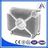 Dissipatore di calore di alluminio dell'espulsione 6061 T6/dissipatore di calore di alluminio