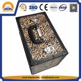 Случай поезда состава леопарда кожаный с замком (HB-1201)