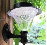 Type lumière solaire de support de mur de jardin
