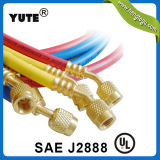 Yute Highquality 1/4 Inch R134A Standard Refrigerant Charging Hose e Gauge