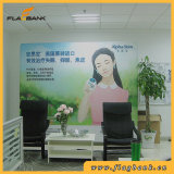 8FT Straight Tension Fabric Backwall Display, Pop up Banner