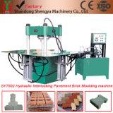 Hydraulische Plasterungs-Ziegelstein-Maschine der Farben-Sy7502 in China