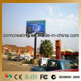 Affichage vidéo polychrome DEL de la publicité extérieure de la qualité P6