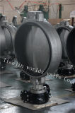 Type de disque de l'acier inoxydable CF8m vanne papillon avec OIN Wras de la CE reconnu (CBF01-TA01)