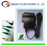 8W UL Plug AC/DC Adapter Black
