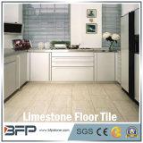 Mattonelle di pavimento chiare del calcare della Cina per la pavimentazione circondante, interna ed esterna della stanza da bagno