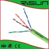 Pares Twisted sin blindaje del cable de LAN de la computadora de red de la alta calidad 4 UTP Cat5e