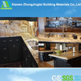 Kitchen Designのための白いQuartz Prefab Laminated Granite Benchtops