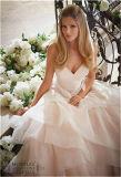 Vestido de noiva de noiva de organza com novidades 2016, personalizado