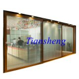 2.0mm Thicknessの3 Tracks Aluminum Alloy Sliding Door