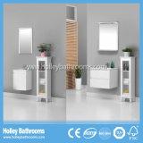 Armoires de salle de bains nouvelle conception avec un ensemble d'armoires en verre transparent (BV216W)