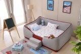 아이 E6007를 위한 2017의 가장 새로운 아이들 침대 룸 직물 침대