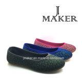 Populäre stilvolle Einspritzung-Ineinander greifen-Sport-Schuhe für Frauen (JM2024-L)