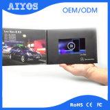 Librete artificial modificado para requisitos particulares de la tarjeta de felicitación del vídeo de la talla de A4 A5