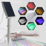 Angeschaltenes LED-Zeichenkette-Solarlicht für Baum-Dekoration