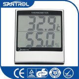 com o termômetro de Digitas Multifunction do higrómetro e do pulso de disparo para mostrar a temperatura, umidade, tempo com indicador do LCD