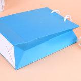 Sac de papier de achat de carton fait sur commande d'impression de qualité avec le traitement de corde