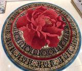 ローズの極度の毛織の敷物