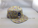カスタム明白な花5のパネルのバイカーの帽子