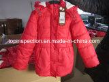 Одеяние, одежды (пальто, куртка, Jean, платье, нижнее белье) и вспомогательный осмотр качества