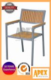 의자를 식사하는 Polywood 다방 가구 플라스틱 목제 옥외 가구