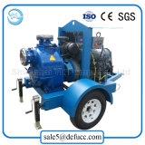 bomba de agua diesel de la irrigación agrícola móvil 30kw