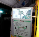 transporte de la ciudad 22-Inch que hace publicidad del panel del LCD de la visualización que hace publicidad de la señalización de Digitaces