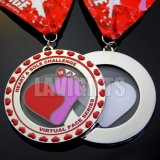 漫画子供の子供の記念品のギフトのための動物のピンク賞の金属メダル
